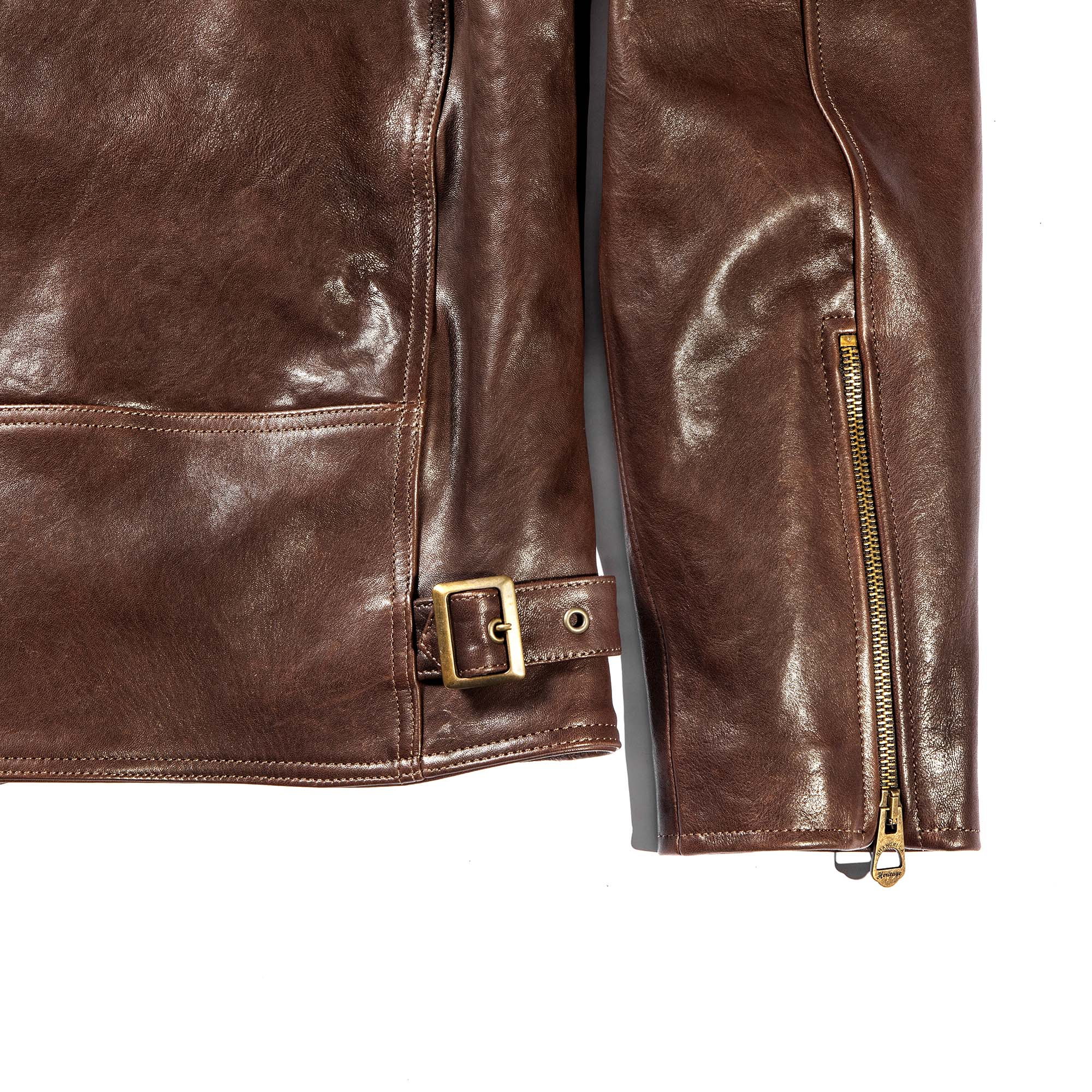 shangri-la-heritage-cafe-racer-brown-lambskin-jacket-still-life-back-bottom