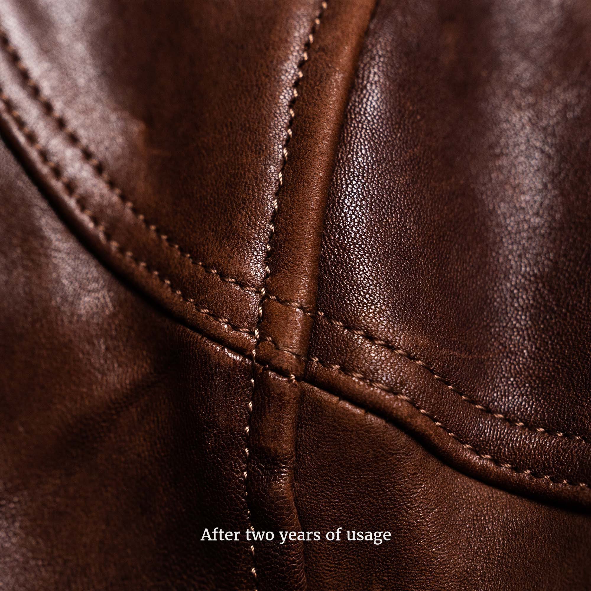 shangri-la-heritage-cafe-racer-brown-lambskin-jacket-still-life-new-shoulder-detail-used
