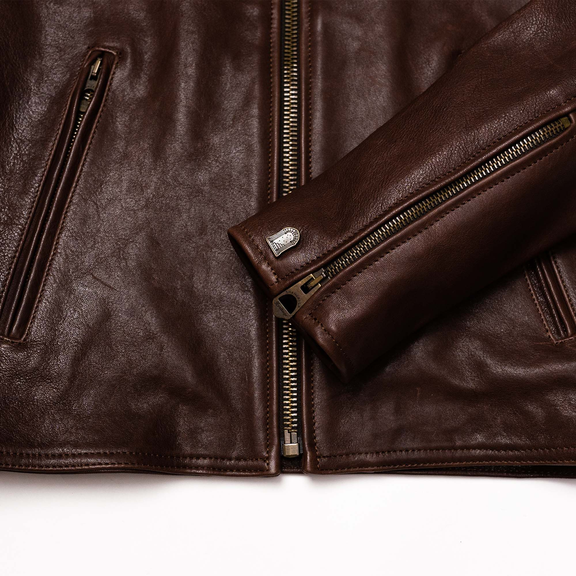 shangri-la-heritage-cafe-racer-brown-lambskin-jacket-still-life-new-sleeve-detail