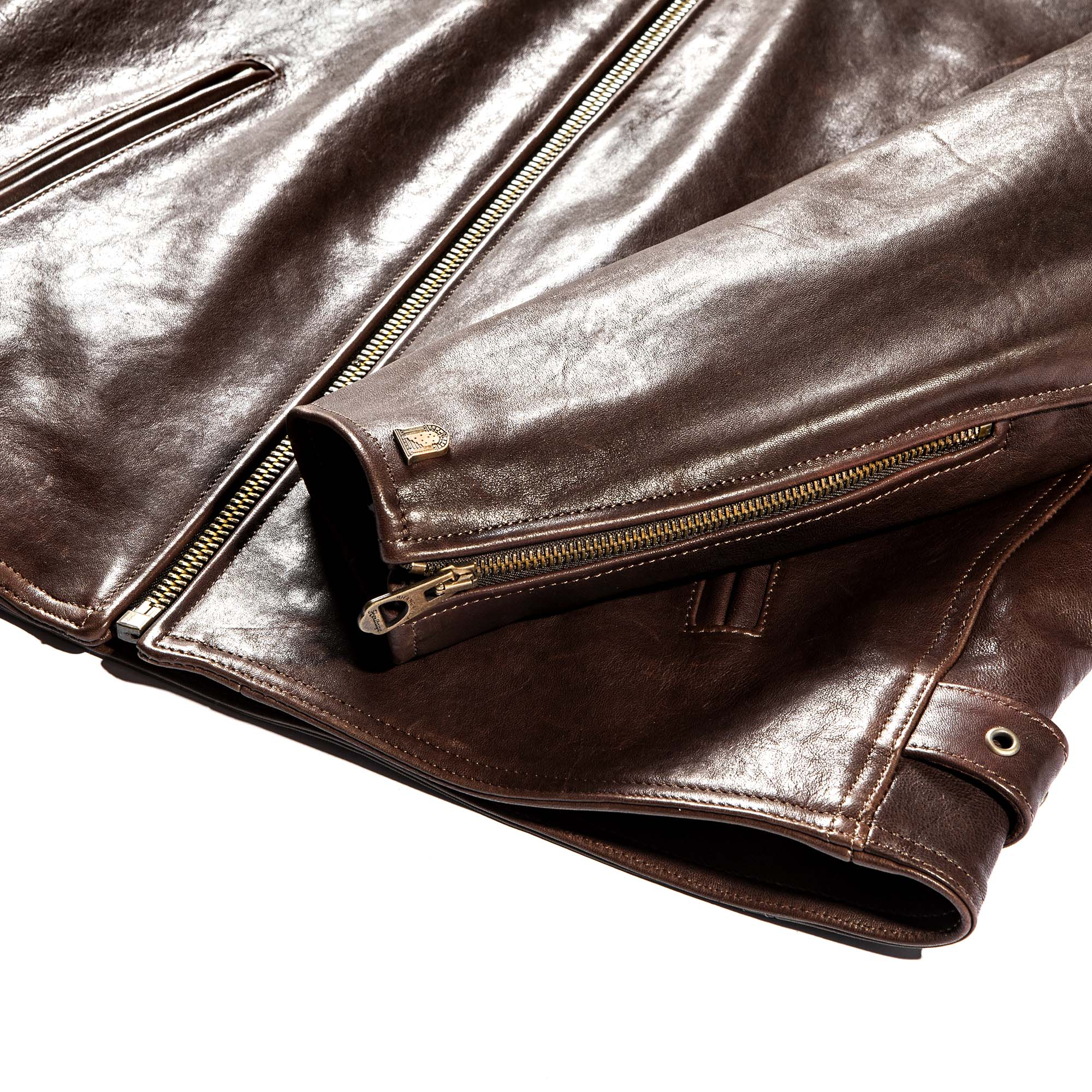shangri-la-heritage-cafe-racer-brown-lambskin-jacket-still-life-sleeve