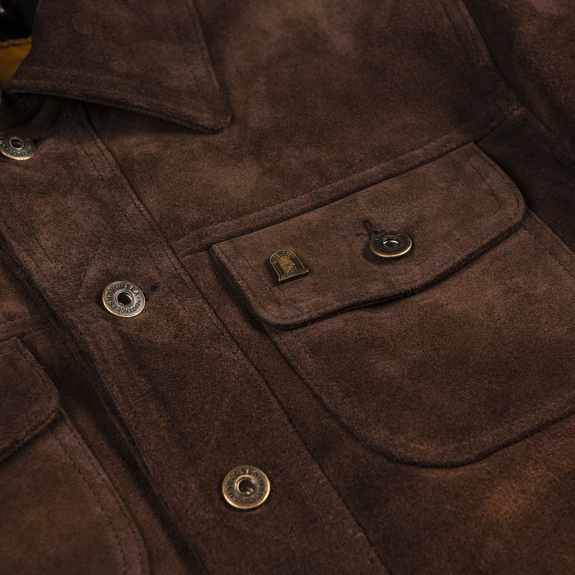 shangri-la-heritage-terracotta-brown-calfskin-suede-jacket-still-life-front-chest-pocket