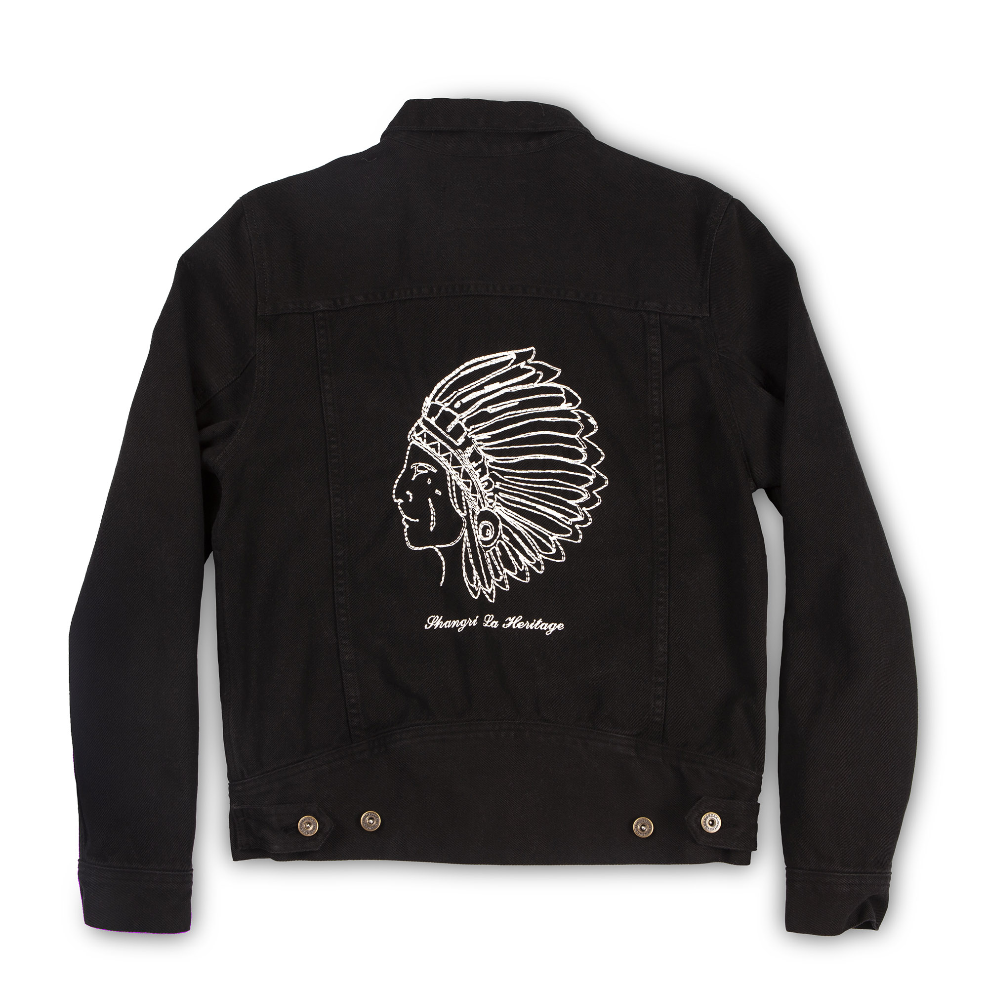 shangri-la-heritage-new-single-rider-toro-seduto-black-canvas-jacket-still-life-back
