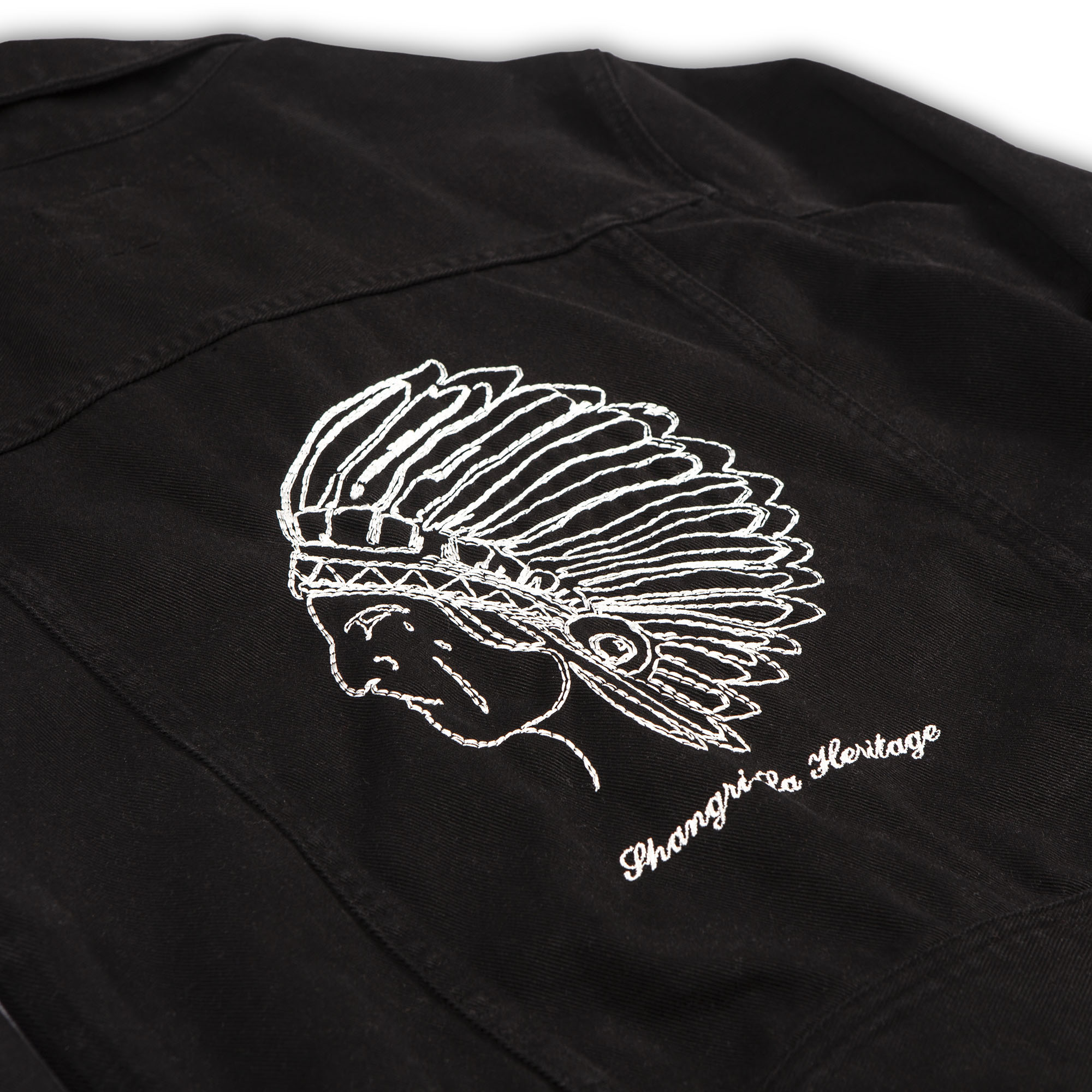 shangri-la-heritage-new-single-rider-toro-seduto-black-canvas-jacket-still-life-embroidery