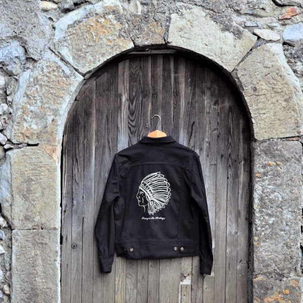shangri-la-heritage-single-rider-black-canvas-jacket-toro-seduto-still-life-back
