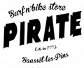 Pirate Surf and Bike logo