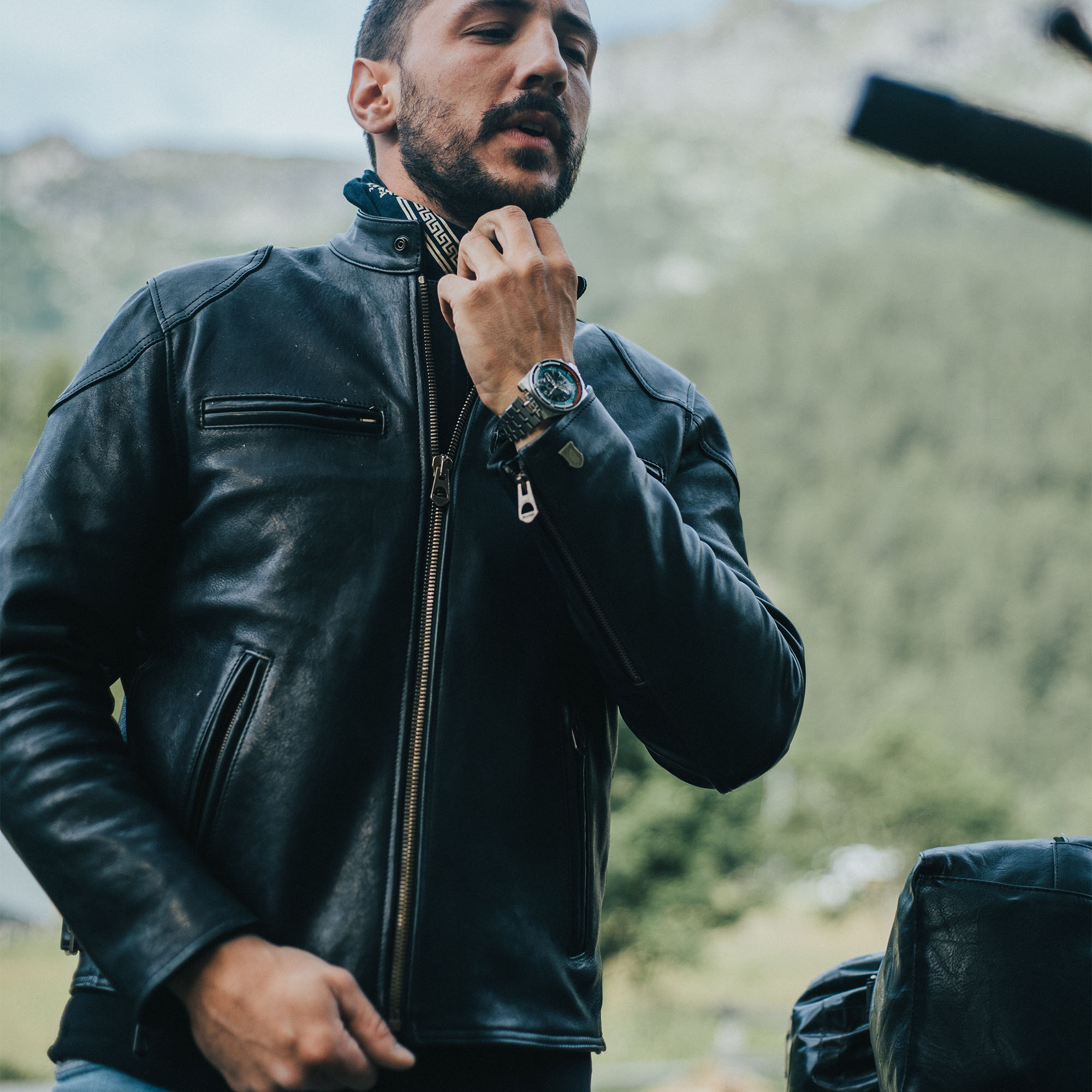 shangri-la-heritage-cafe-racer-black-lambskin-leather-jacket-lifestyle-1