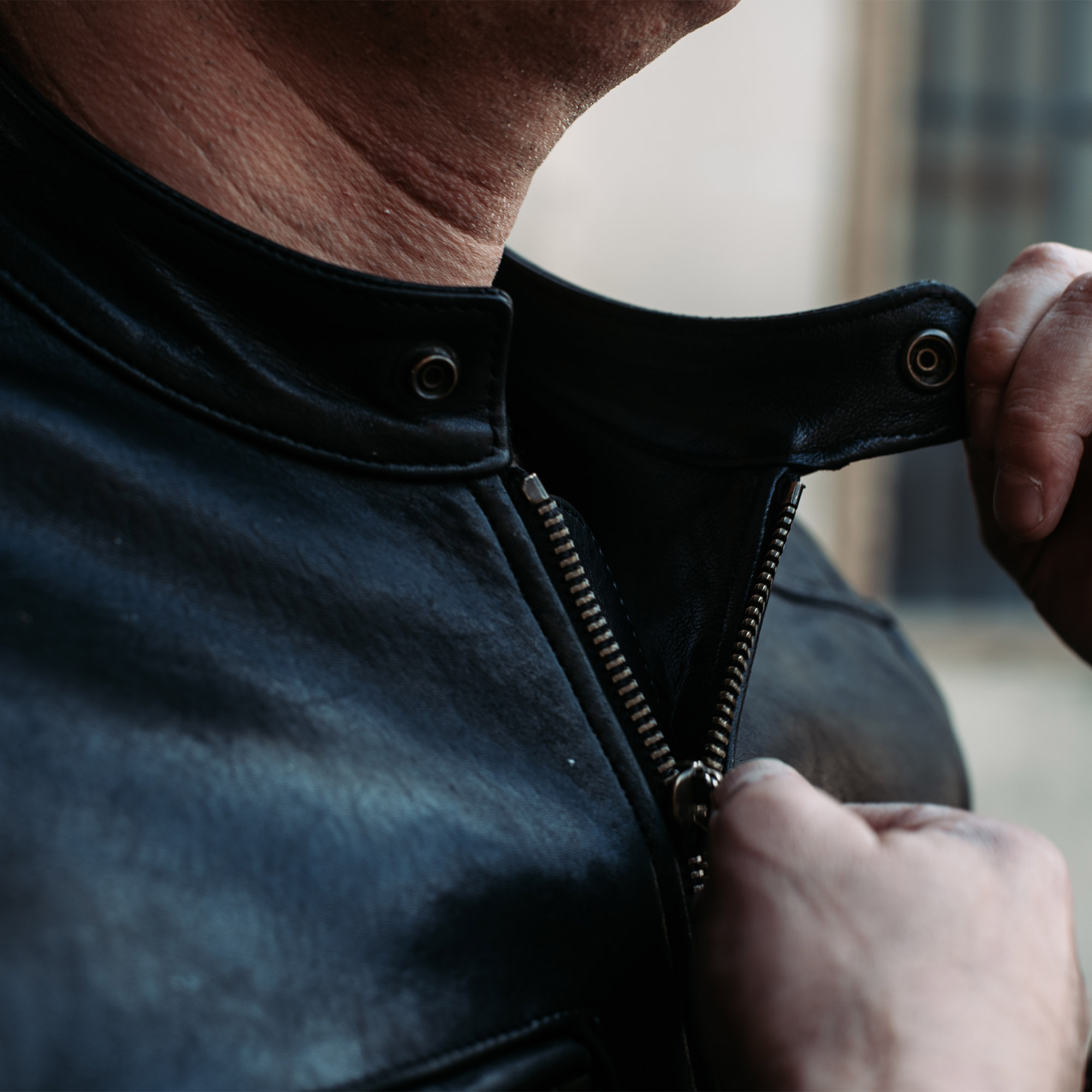 shangri-la-heritage-cafe-racer-black-lambskin-leather-jacket-lifestyle-5
