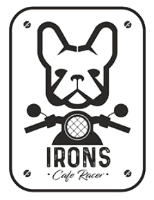 Irons cafe racer logo
