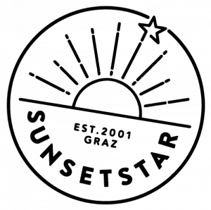 Sunset star logo