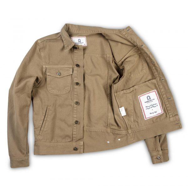 shangri-la-heritage-new-single-rider-army-green-canvas-jacket-still-life-open