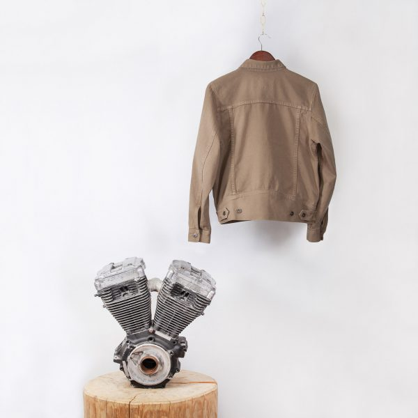 shangri-la-heritage-single-rider-army-green-canvas-jacket-still-life-back-engine-square