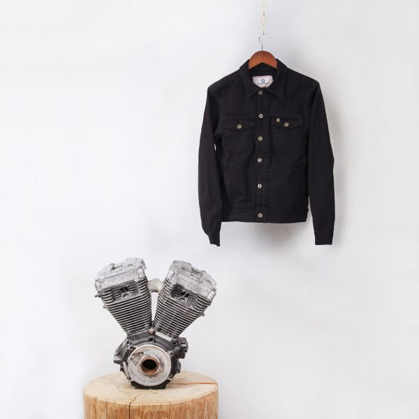 shangri-la-heritage-single-rider-black-canvas-jacket-still-life-front-engine-square