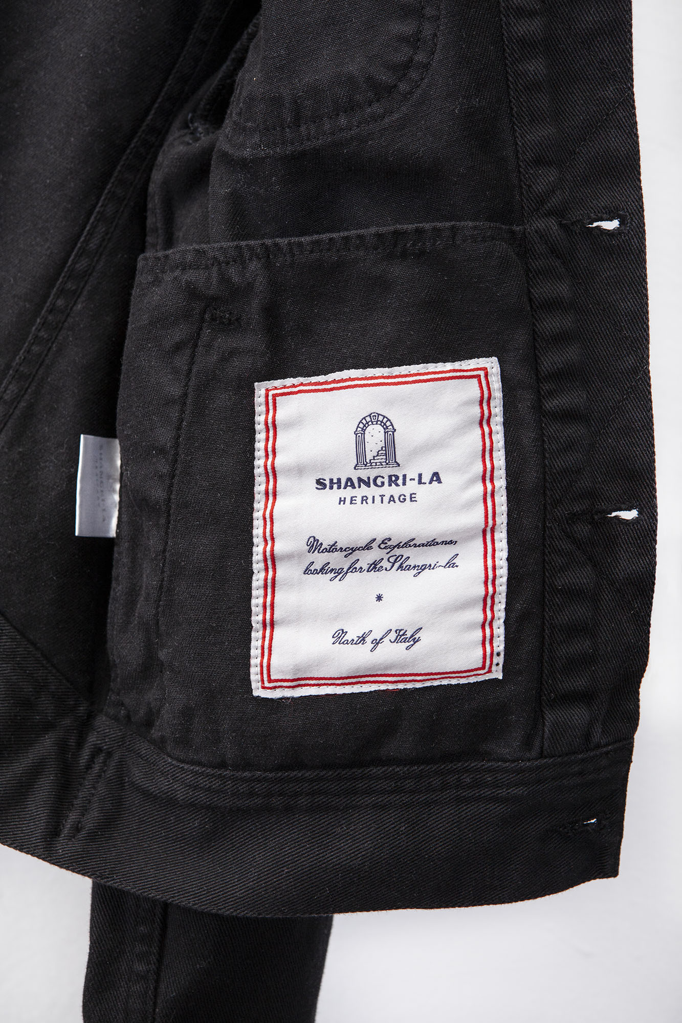 shangri-la-heritage-single-rider-black-canvas-jacket-still-life-label
