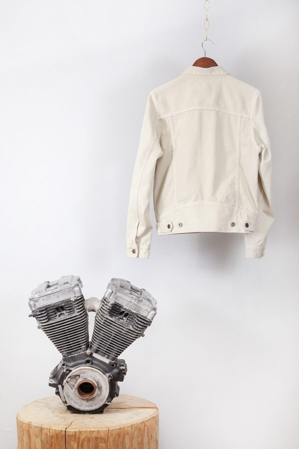 shangri-la-heritage-single-rider-ivory-canvas-jacket-still-life-back-engine
