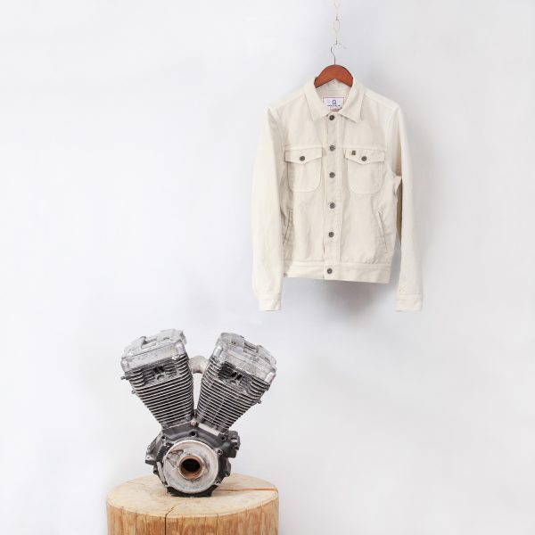 shangri-la-heritage-single-rider-ivory-canvas-jacket-still-life-front-engine-square