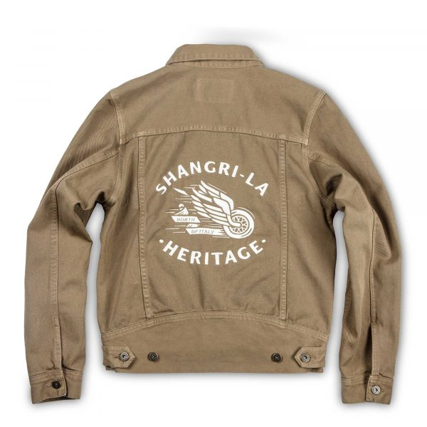 shangri-la-heritage-new-single-rider-winged-wheel-army-green-canvas-jacket-still-life-back