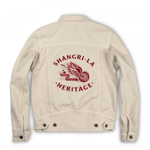 shangri-la-heritage-new-single-rider-winged-wheel-ivory-canvas-jacket-still-life-back