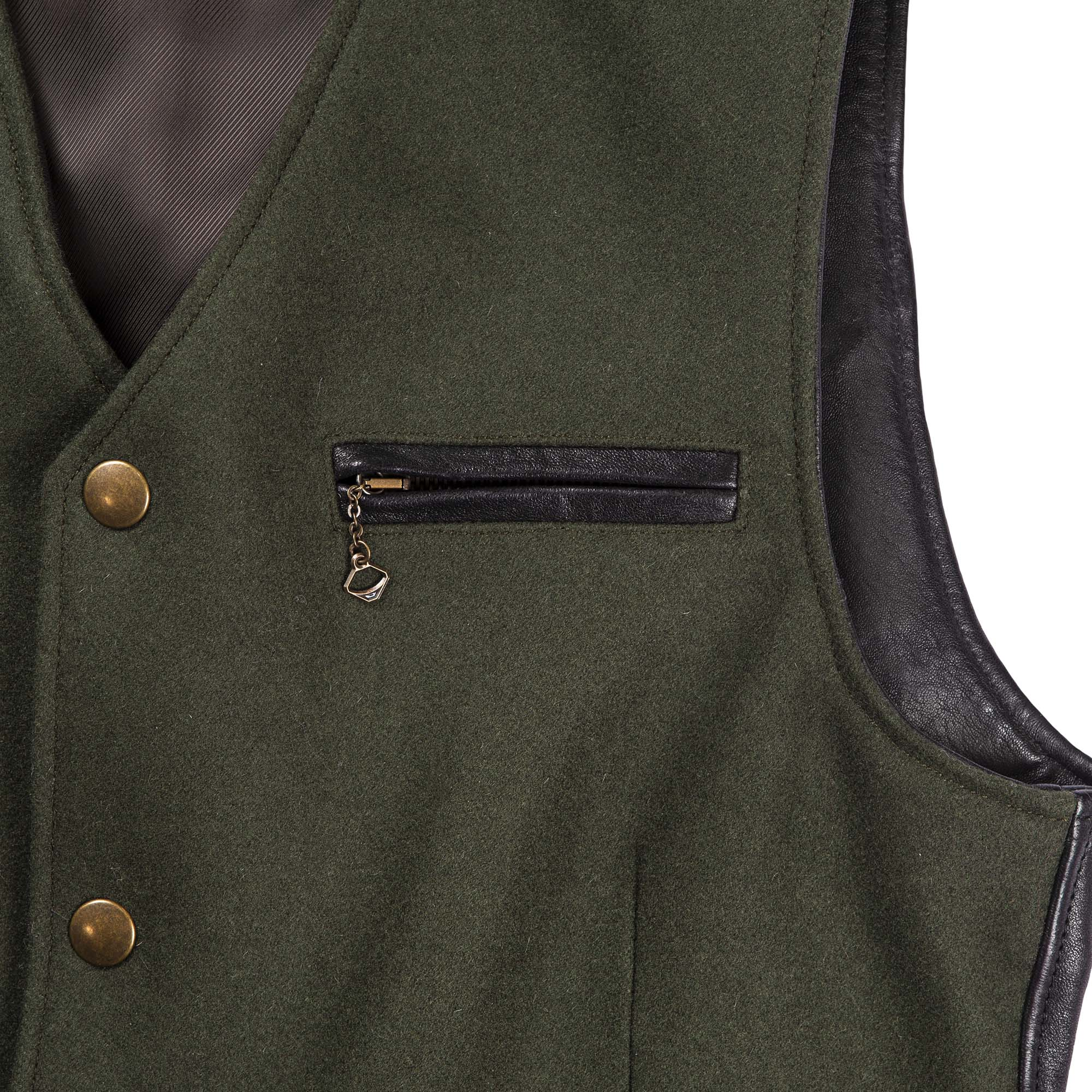 shangri-la-heritage-mandriano-forest-green-wool-vest-still-life-chest-pocket