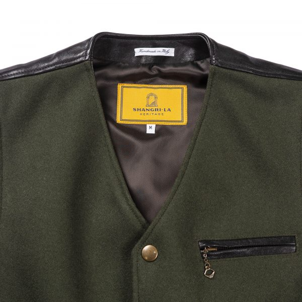 shangri-la-heritage-mandriano-forest-green-wool-vest-still-life-front-top