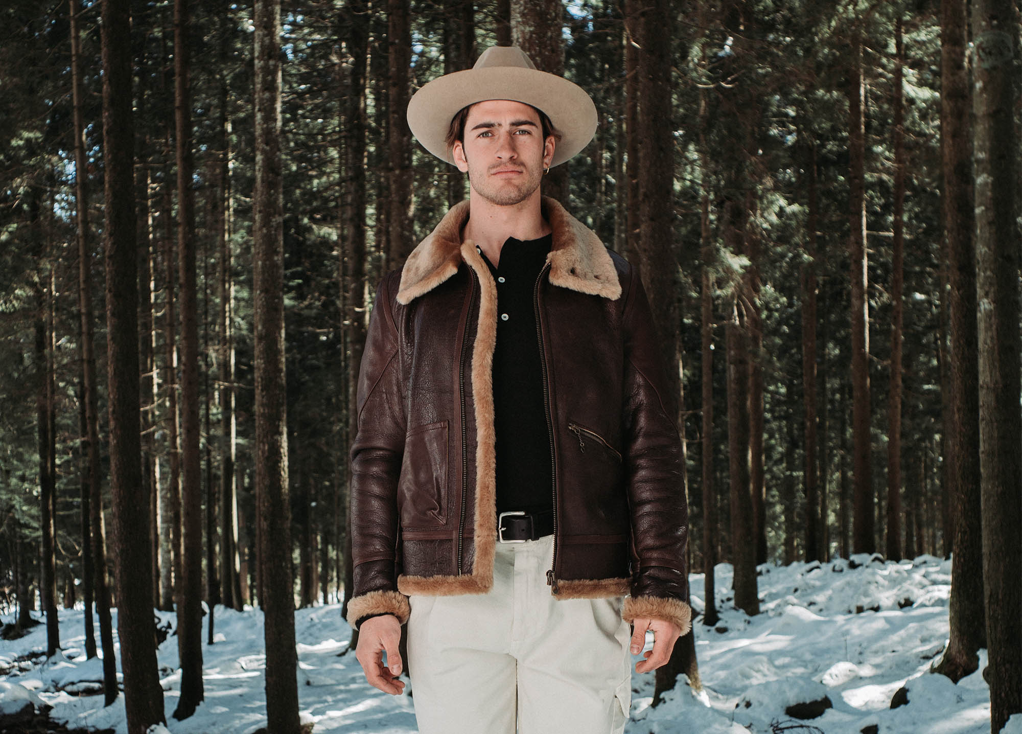 shangri-la-heritage-aviatore-b-3-seal-brown-shearling-sheepskin-jacket-lifestyle-full-width-3