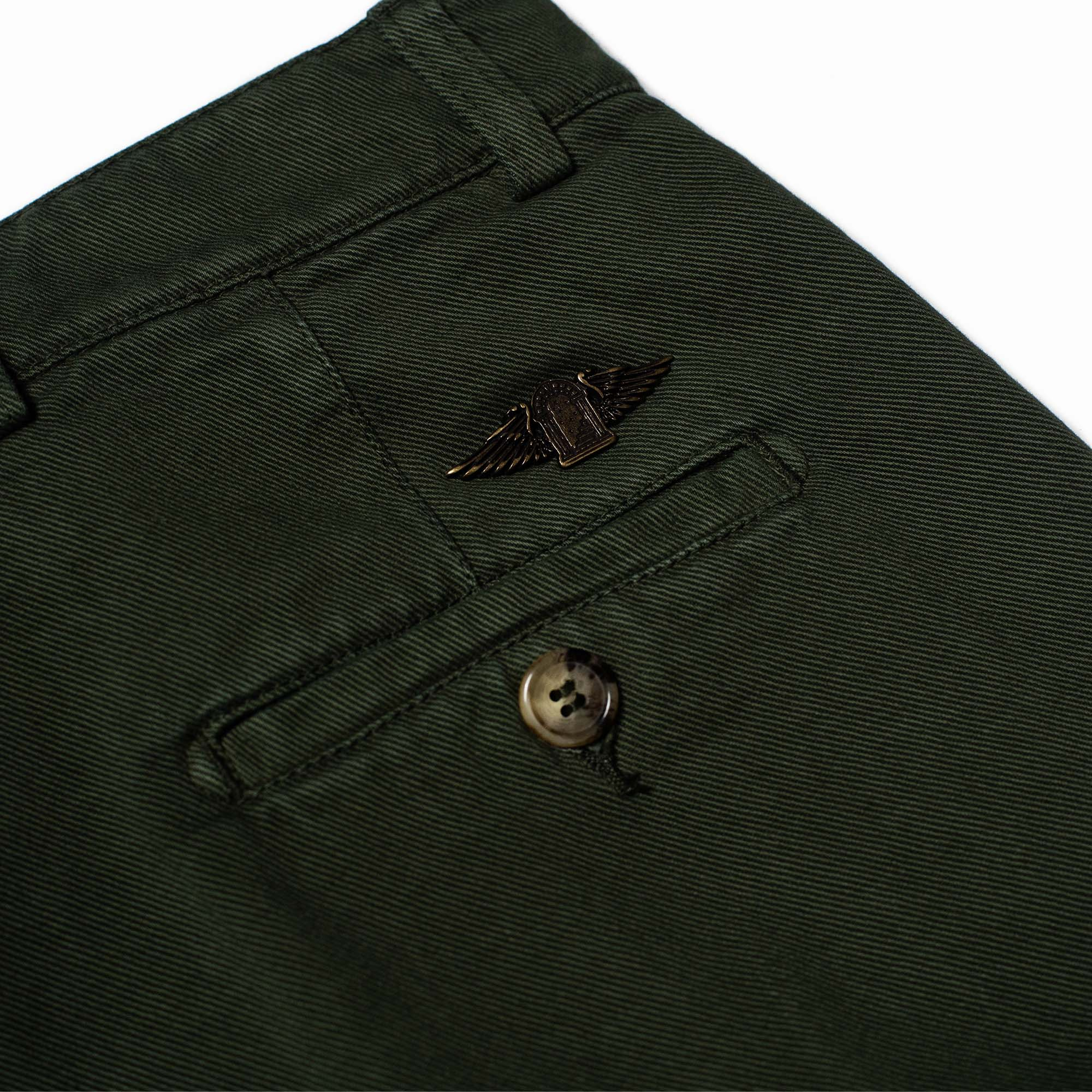 shangri-la-heritage-explorator-olive-cotton-twill-pants-still-life-back-pocket-logo