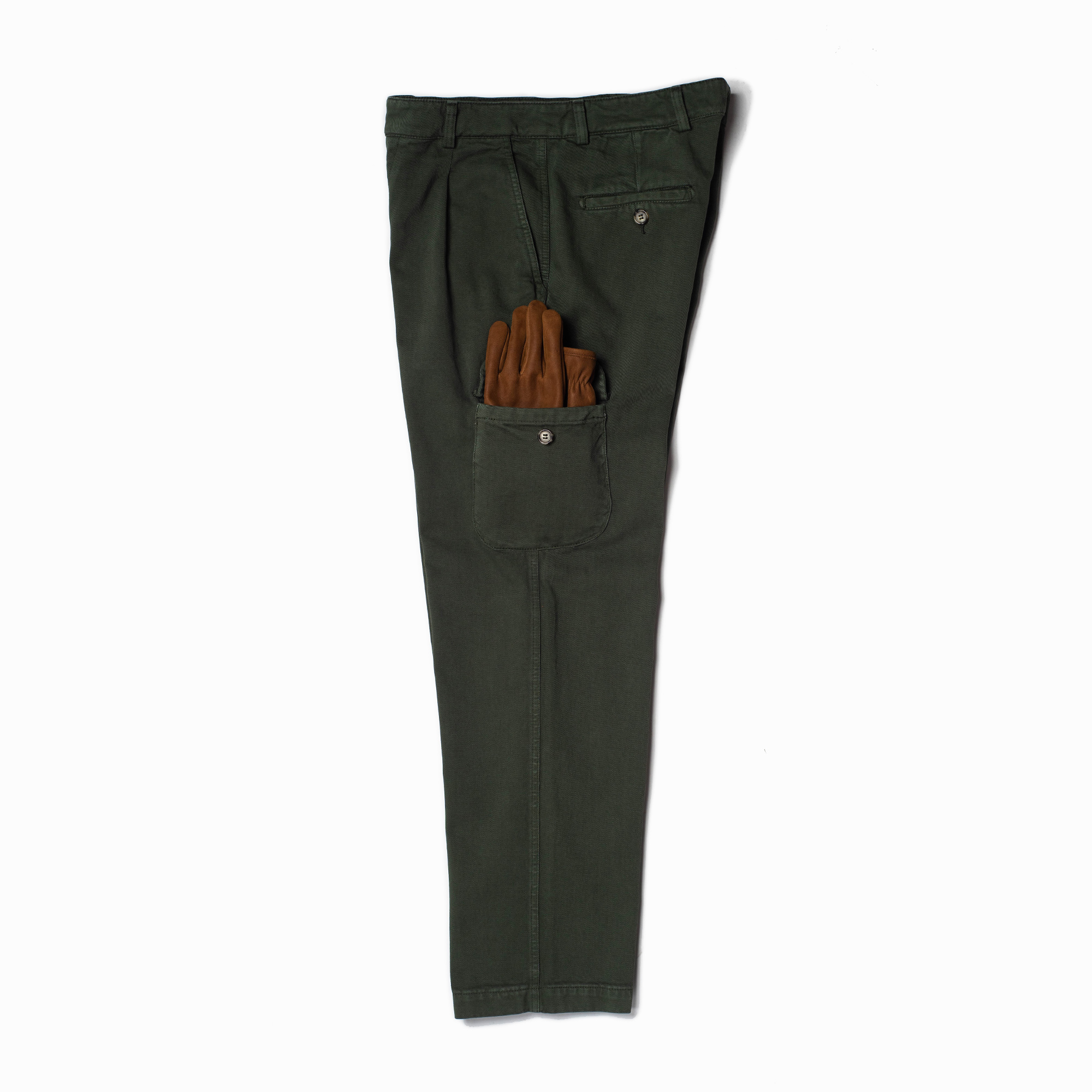 shangri-la-heritage-explorator-olive-cotton-twill-pants-still-life-side-gloves