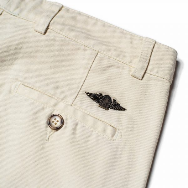 shangri-la-heritage-explorator-white-cotton-twill-pants-still-life-back-pocket-logo