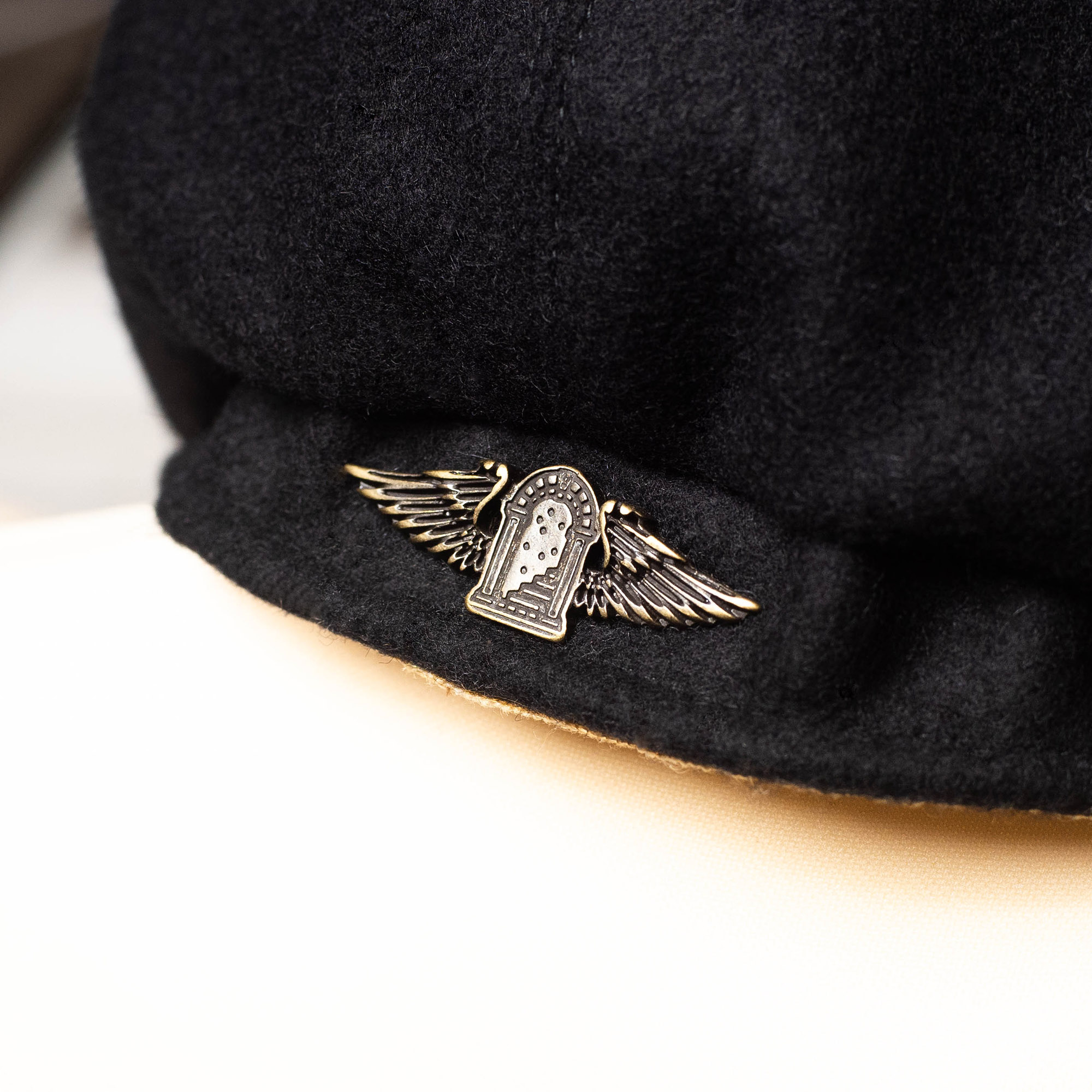 shangri-la-heritage-outlaw-navy-blue-wool-8-panel-riders-cap-still-life-logo