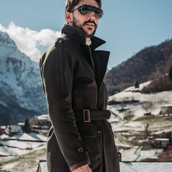 shangri-la-heritage-stelvio-forest-green-melton-wool-dispatch-rider-coat-lifestyle-2