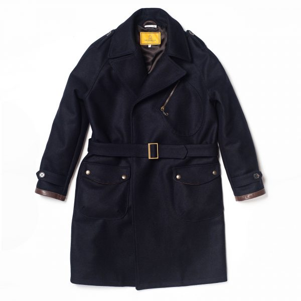 shangri-la-heritage-stelvio-navy-blue-melton-wool-dispatch-rider-coat-still-life-front