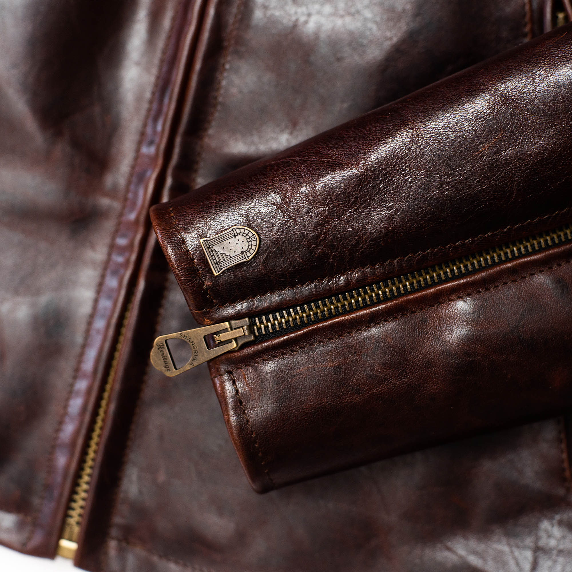 shangri-la-heritage-varenne-whiskey-horsehide-leather-jacket-still-life-sleeve-details