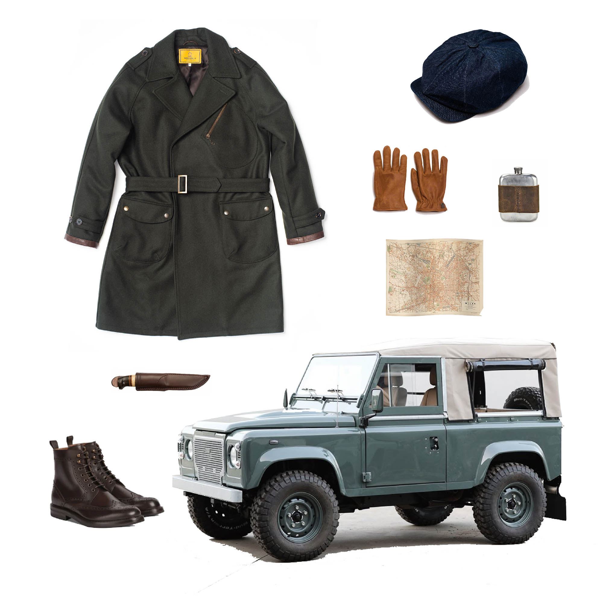 shangri-la-heritage-winter-kit-stelvio-forest-green-melton-wool-dispatch-riders-coat